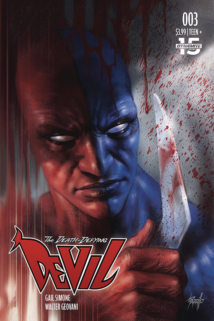 Death-Defying Devil Vol 2 #3 Cover B Variant Lucio Parrillo Cover