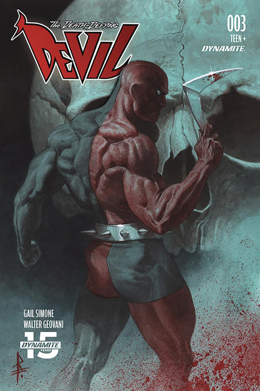 Death-Defying Devil Vol 2 #3 Cover C Variant Riccardo Federici Cover