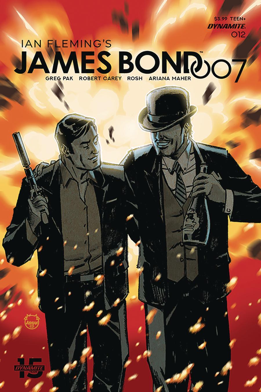 James Bond 007 #12 Cover A Regular Dave Johnson Cover