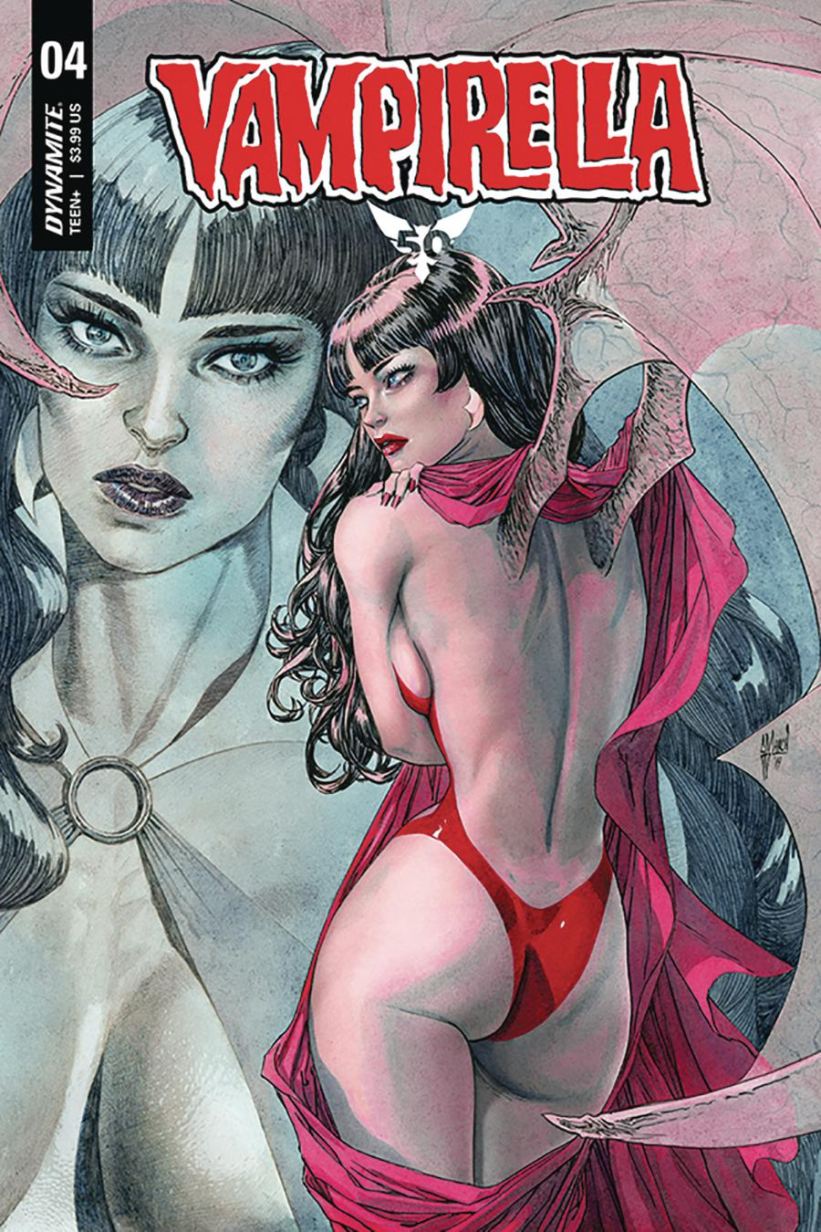 Vampirella Vol 8 #4 Cover B Variant Guillem March Cover