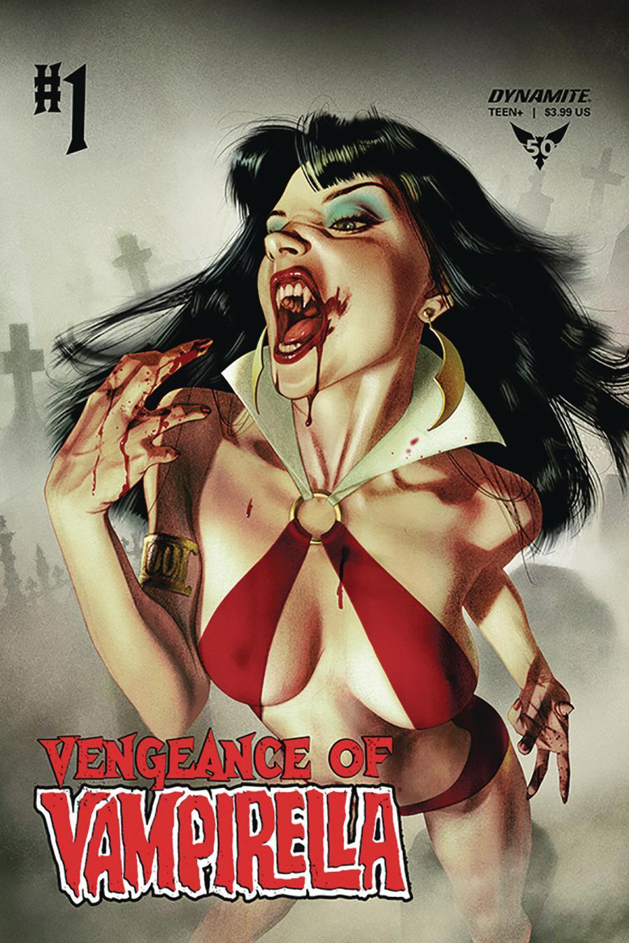 Vengeance Of Vampirella Vol 2 #1 Cover A Regular Joshua Middleton Cover