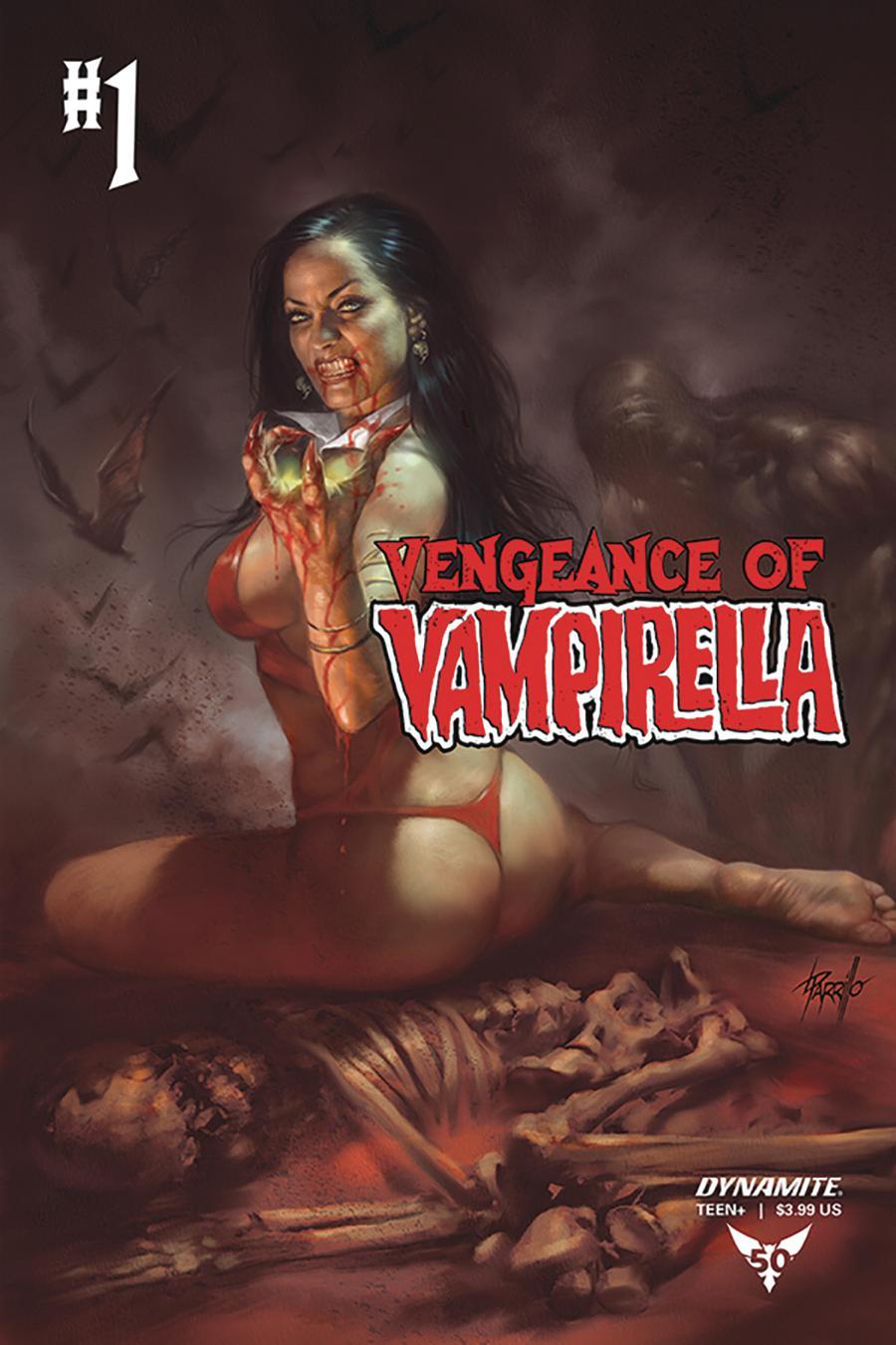 Vengeance Of Vampirella Vol 2 #1 Cover D Variant Lucio Parrillo Cover