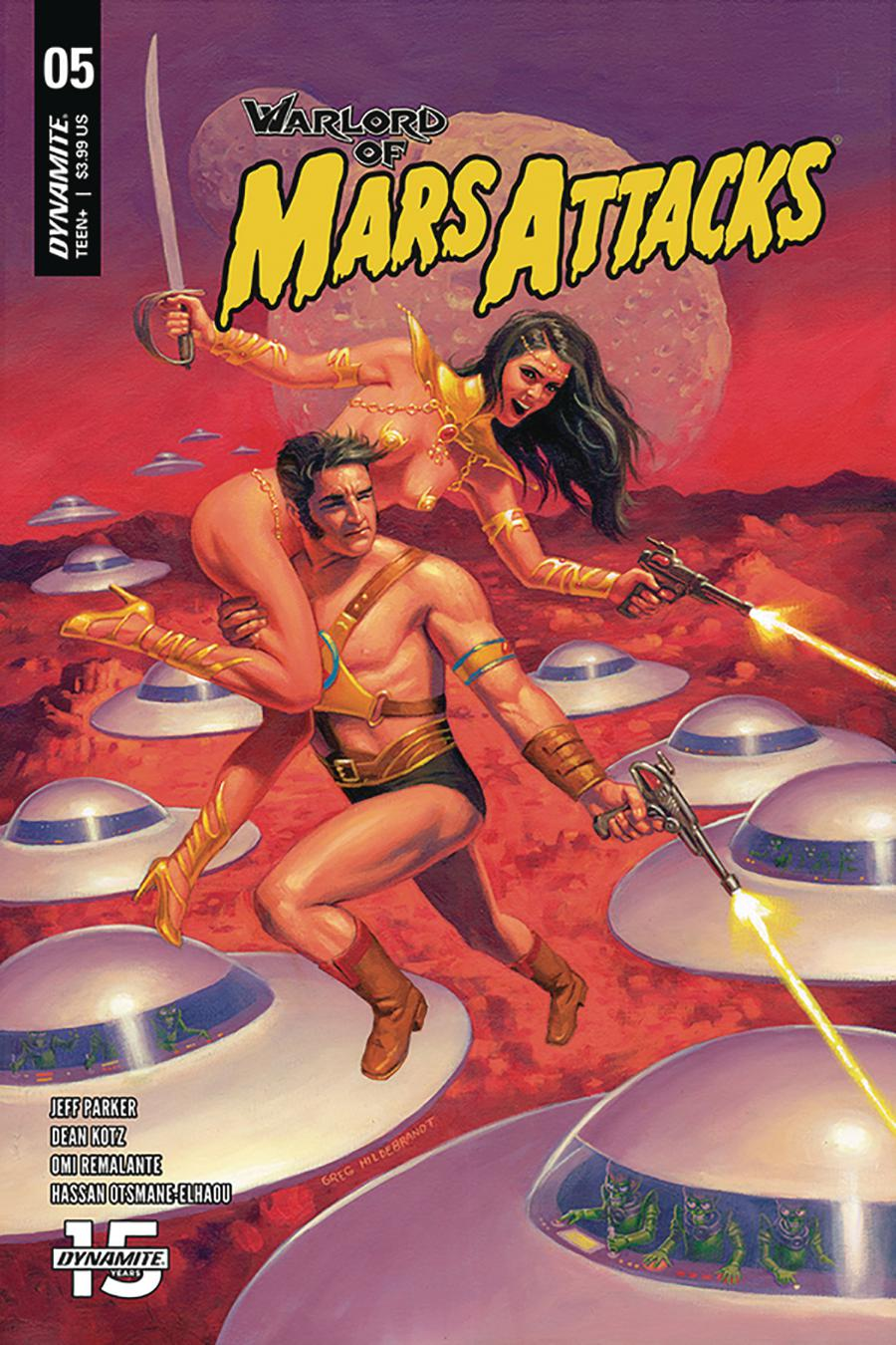 Warlord Of Mars Attacks #5 Cover A Regular Greg Hildebrandt Cover