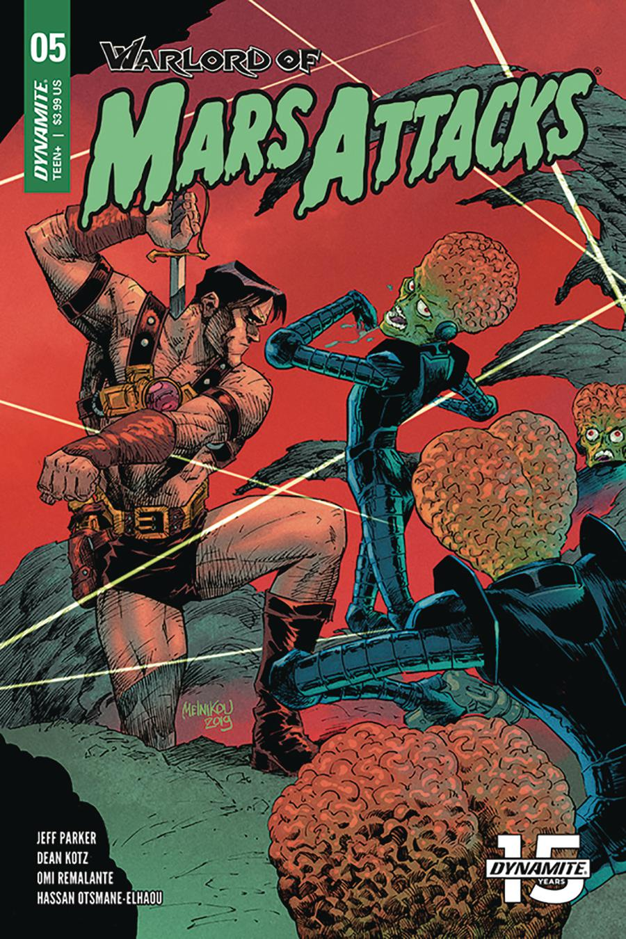 Warlord Of Mars Attacks #5 Cover C Variant Gleb Melnikov Cover