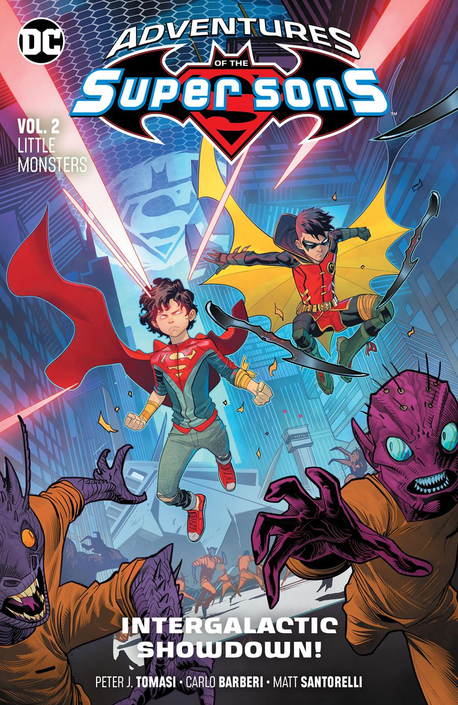 Adventures Of The Super Sons Vol 2 Little Monsters TP