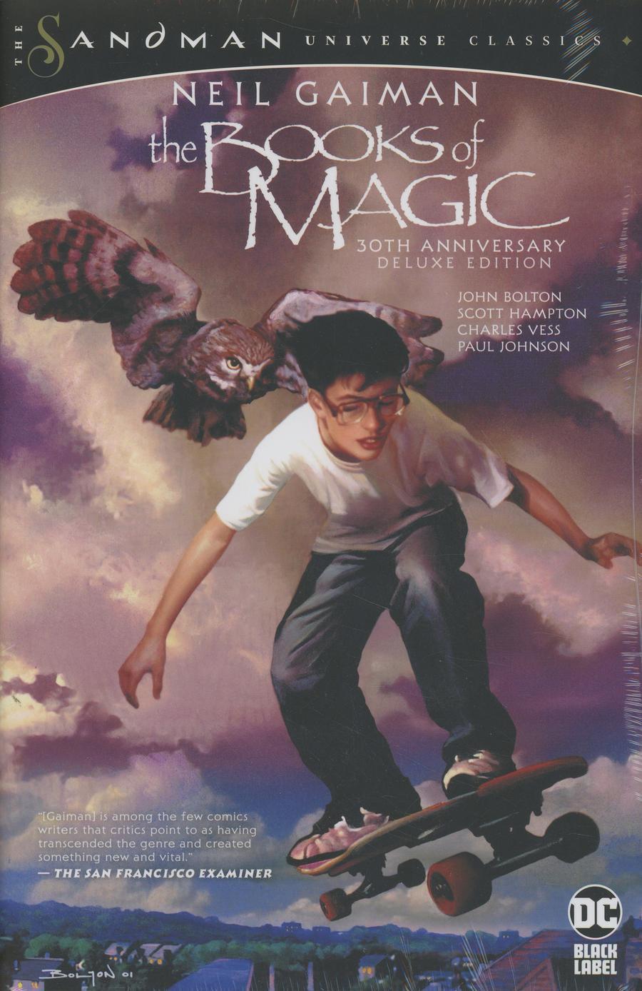 Books Of Magic 30th Anniversary Deluxe Edition HC
