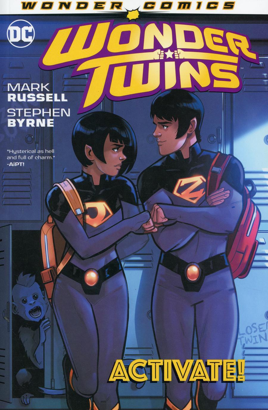 Wonder Twins Vol 1 Activate TP