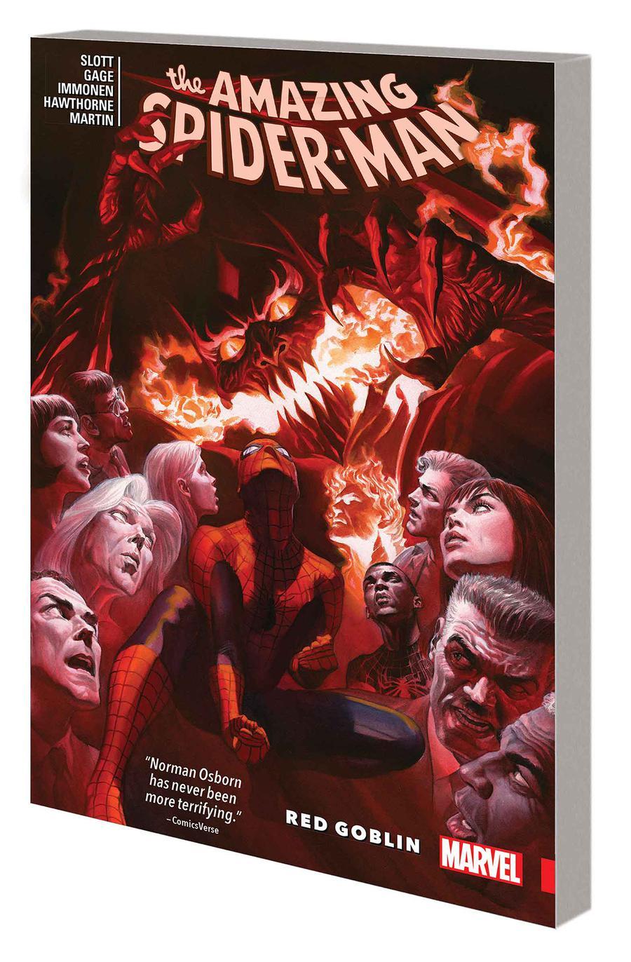 Amazing Spider-Man Red Goblin TP