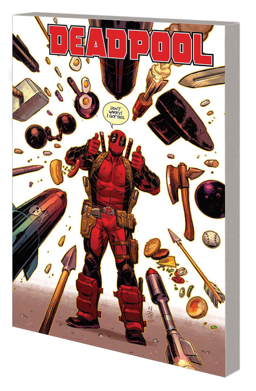 Deadpool By Skottie Young Vol 3 Weasel Goes To Hell TP