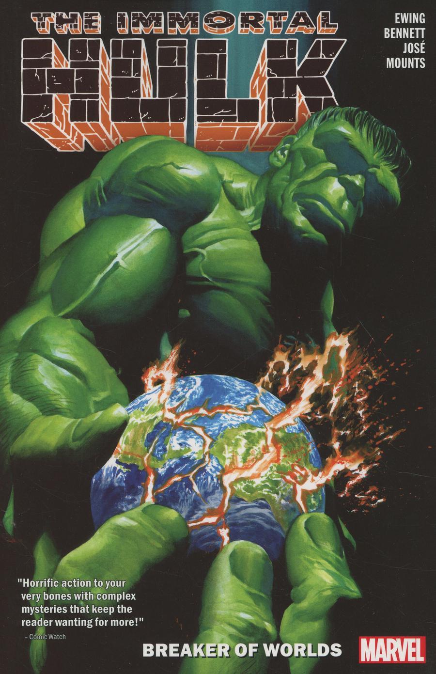 Immortal Hulk Vol 5 Breaker Of Worlds TP