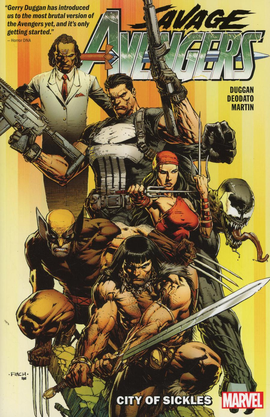 Savage Avengers Vol 1 City Of Sickles TP