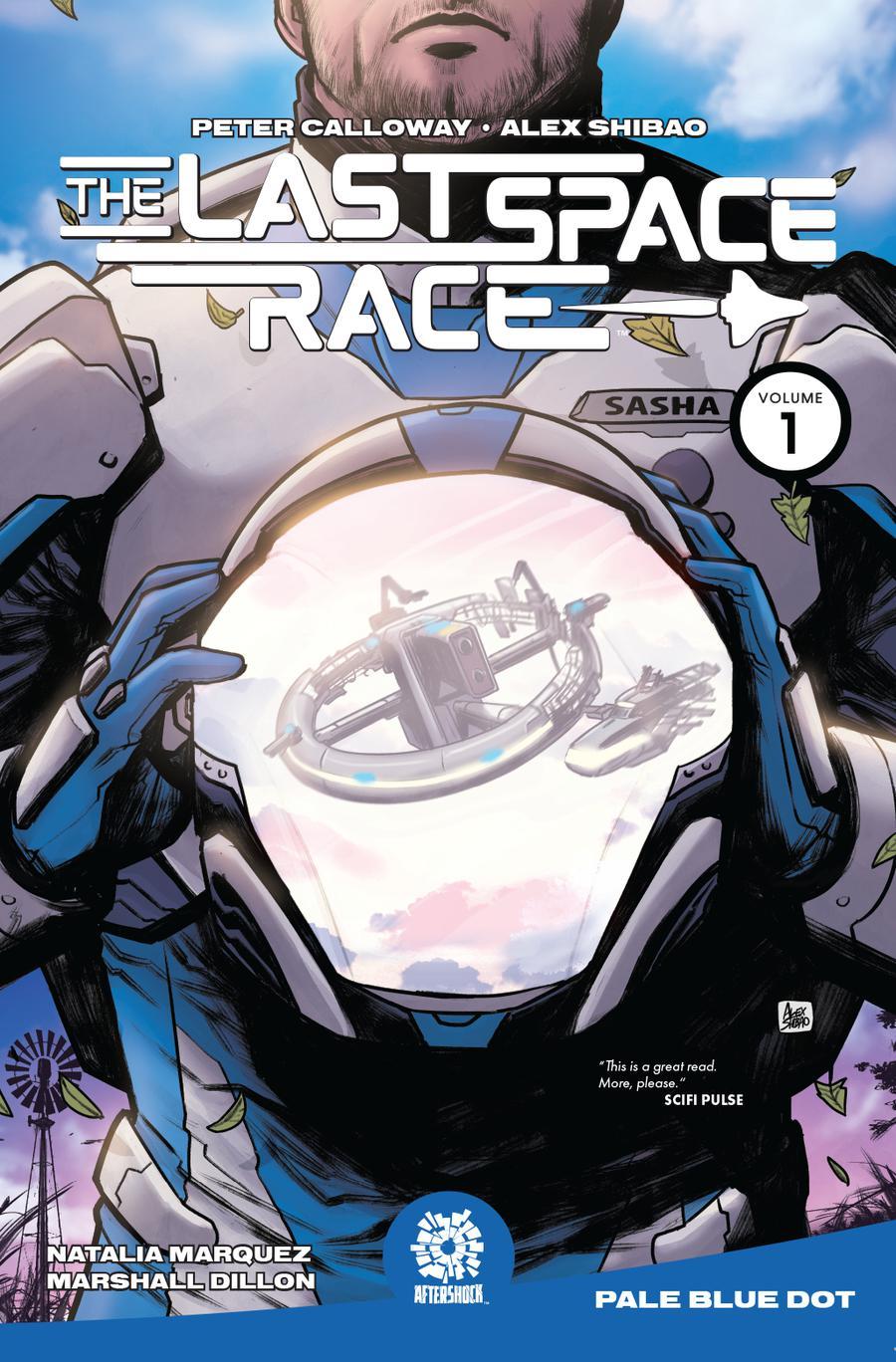 Last Space Race Vol 1 Pale Blue Dot TP