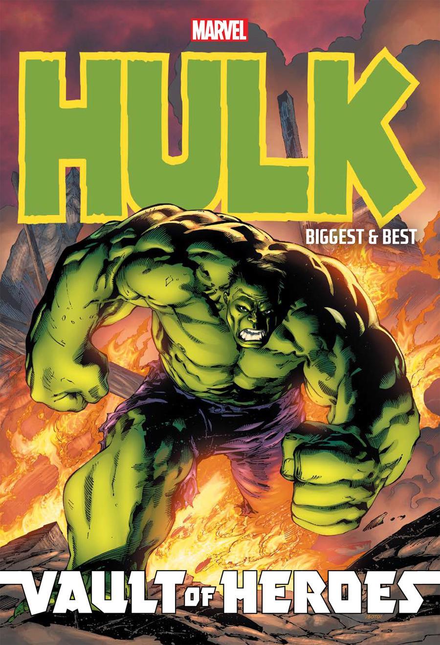Marvel Vault Of Heroes Hulk Biggest & Best TP