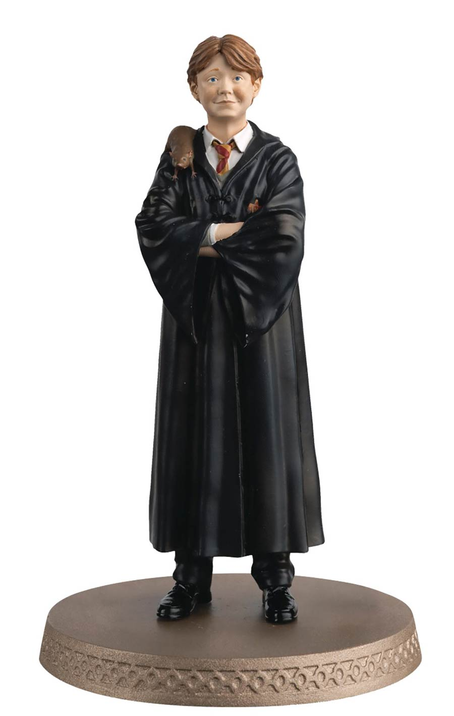 Wizarding World Figurine Collection - Ron Weasley With Scabbers