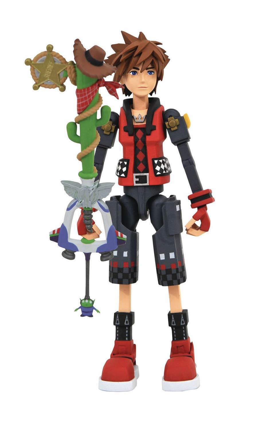 Kingdom Hearts III Toy Story Valor Form Sora Action Figure