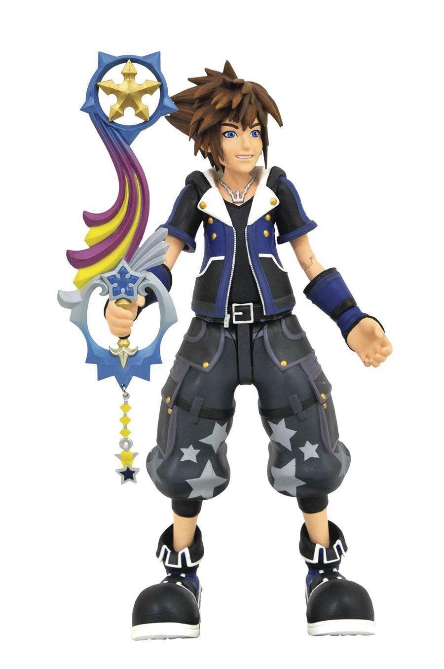 Kingdom Hearts III Wisdom Form Sora Action Figure