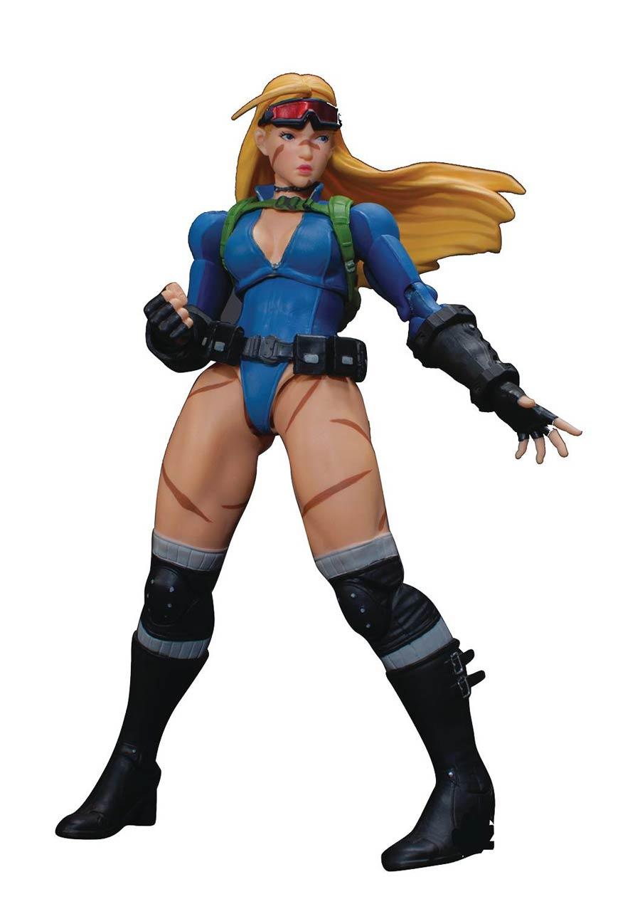 Street Fighter V Arcade Edition 1/12 - Cammy Battle Costume Action Figure