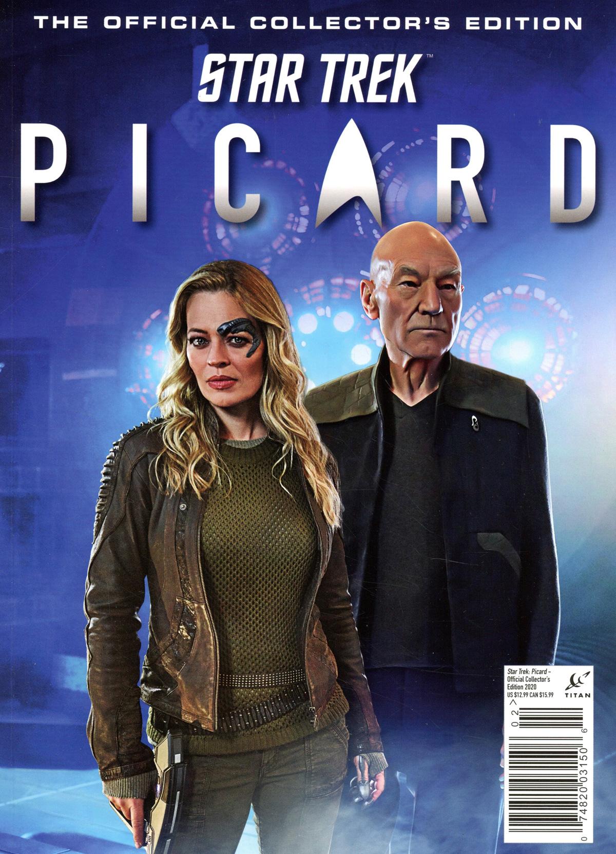 Star Trek Picard Official Collectors Edition 2020 Previews Exclusive Edition
