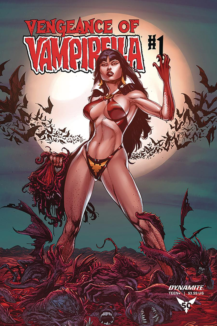 Vengeance Of Vampirella Vol 2 #1 Cover G Incentive Buzz Variant Cover