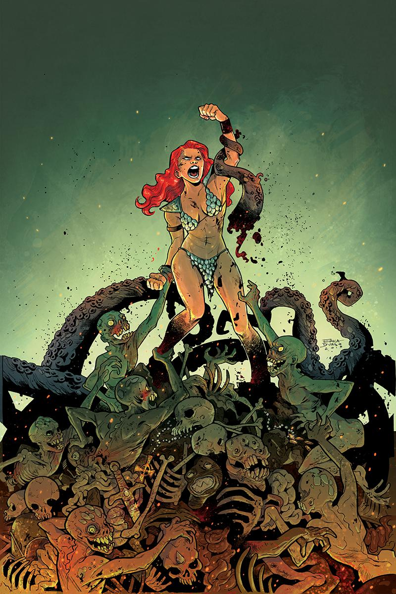 Savage Tales A Red Sonja Halloween Special One Shot Cover B Incentive Erica Durso Virgin Cover