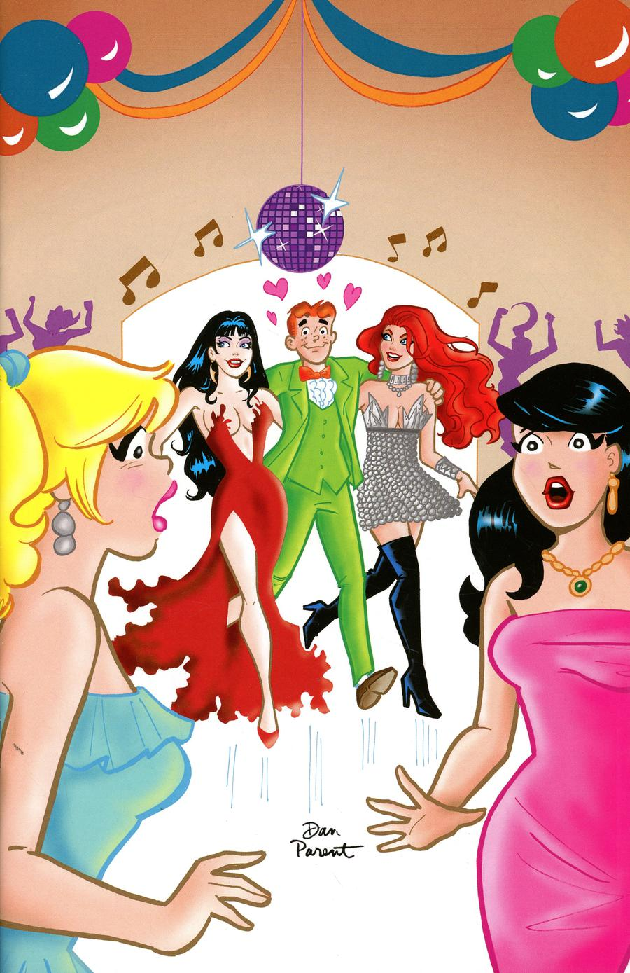 Red Sonja And Vampirella Meet Betty And Veronica #6 Cover M Incentive Dan Parent Virgin Cover