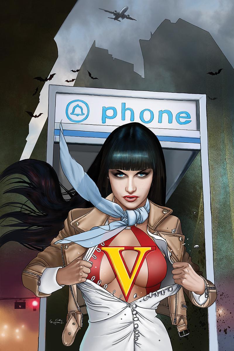 Vampirella Vol 8 #4 Cover F Incentive Ergun Gunduz Virgin Cover