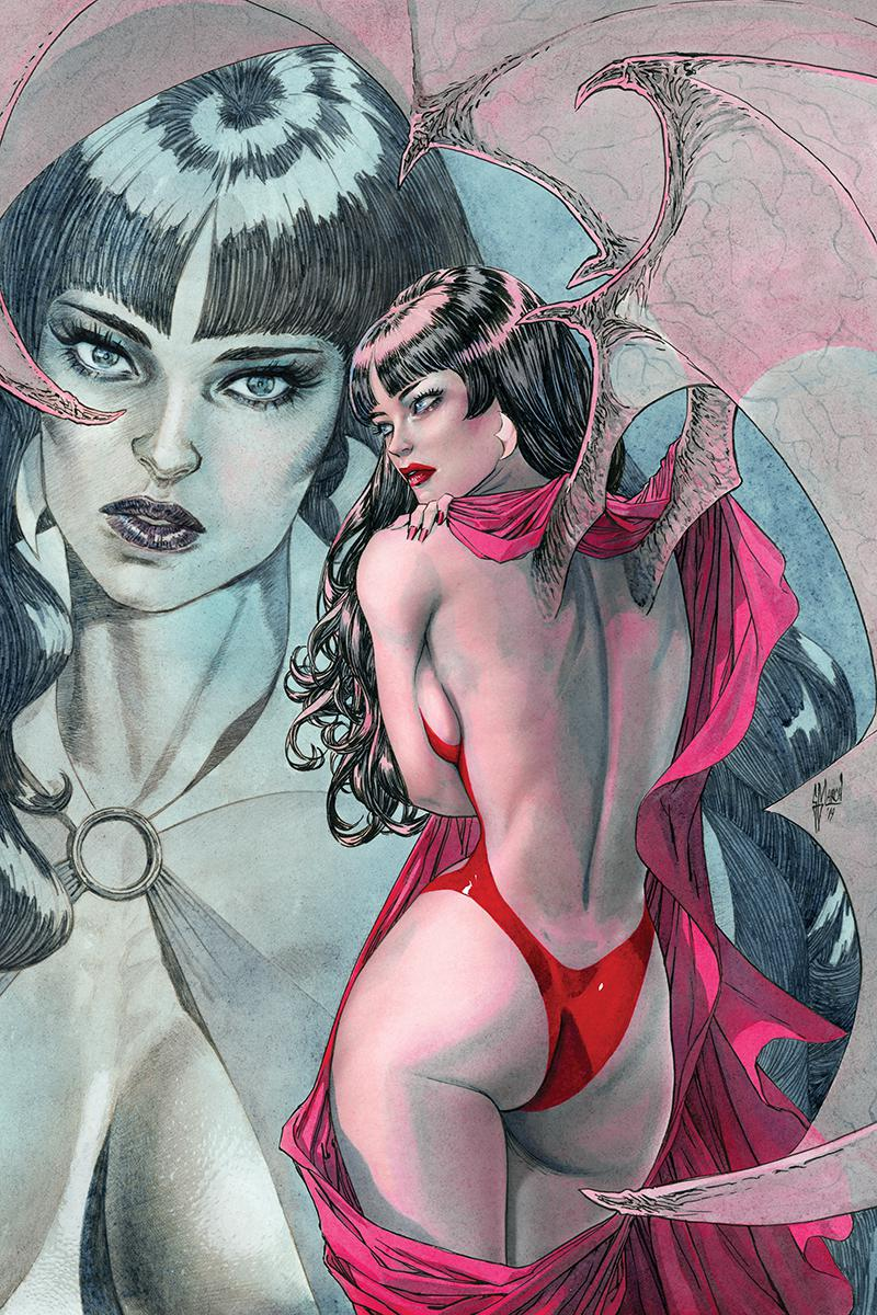 Vampirella Vol 8 #4 Cover L Incentive Guillem March Virgin Cover
