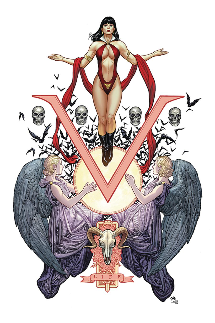 Vengeance Of Vampirella Vol 2 #1 Cover S Limited Edition Frank Cho High End Virgin Cover