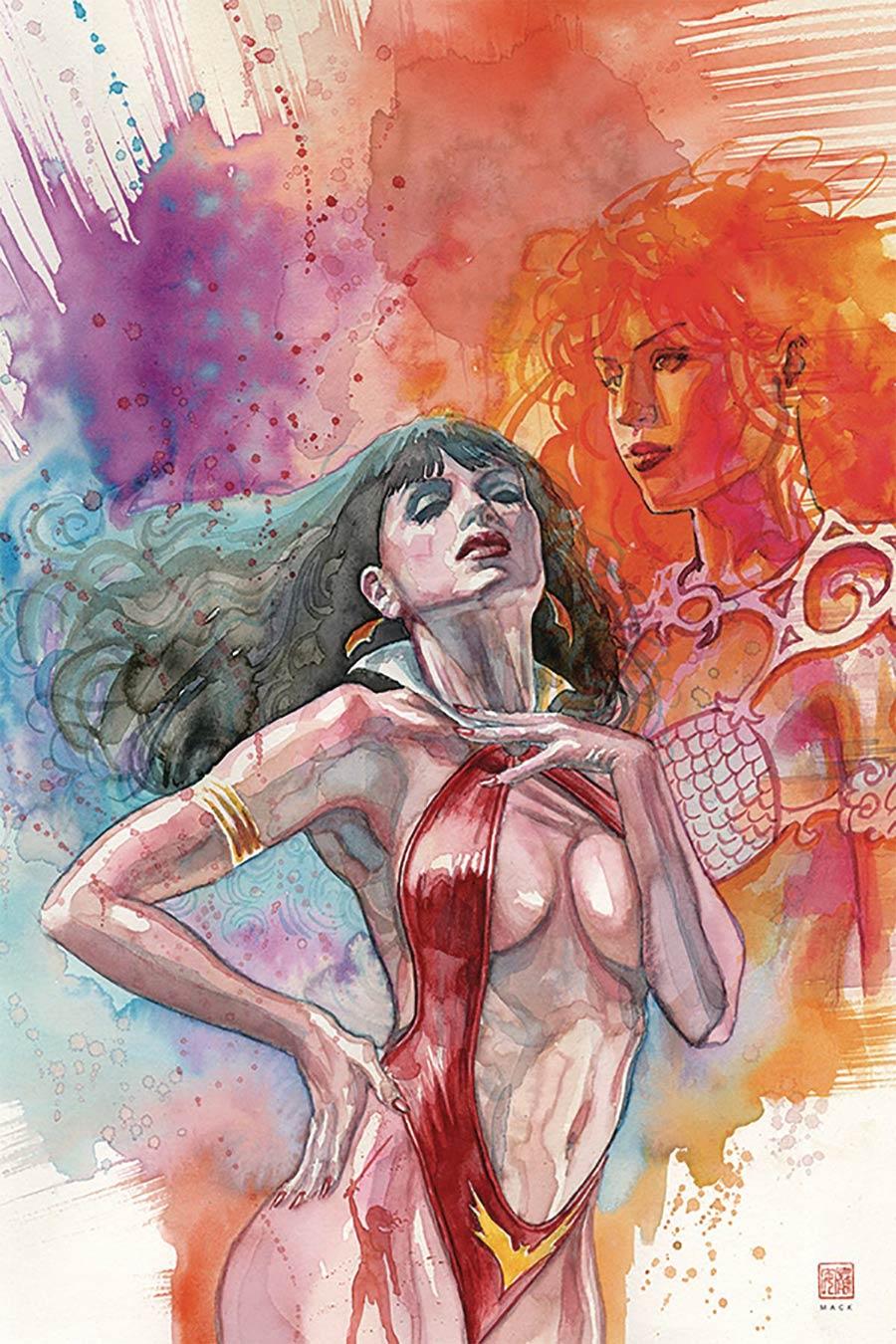 Vampirella Red Sonja #2 Cover P Limited Edition David Mack High End Virgin Cover