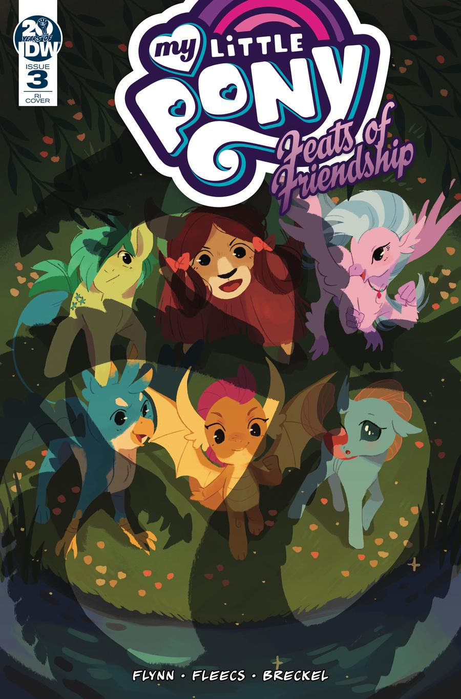 My Little Pony Feats Of Friendship #3 Cover C Incentive Katie ONeill Variant Cover