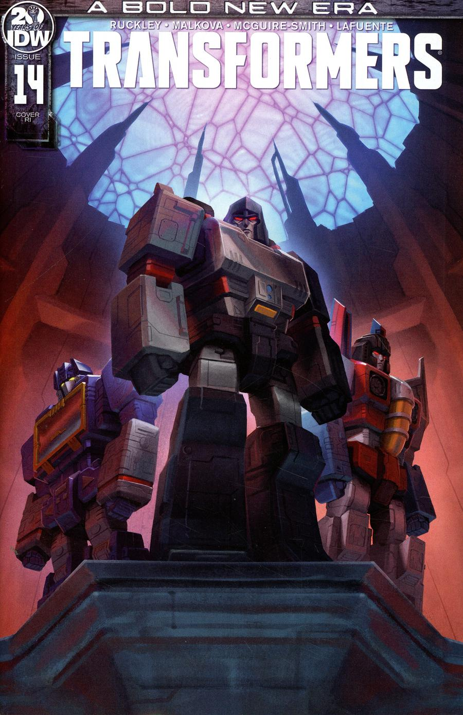Transformers Vol 4 #14 Cover C Incentive Sara Pitre-Durocher Variant Cover