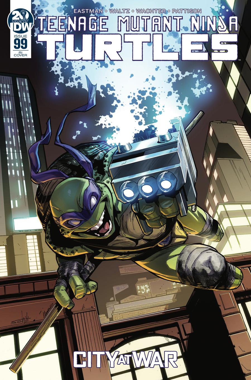 Teenage Mutant Ninja Turtles Vol 5 #99 Cover C Incentive Valerio Schiti Variant Cover