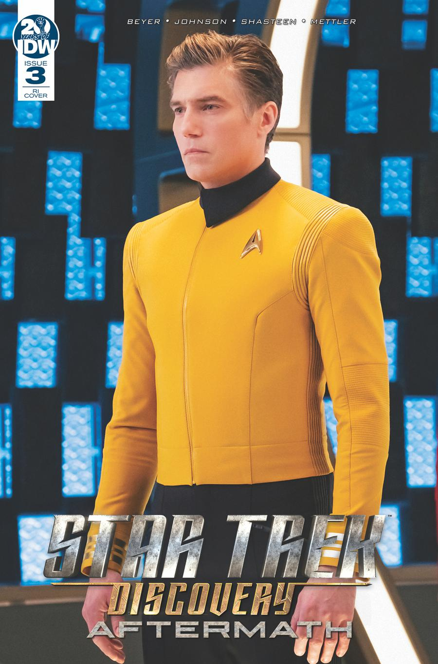 Star Trek Discovery Aftermath #3 Cover B Incentive Photo Variant Cover
