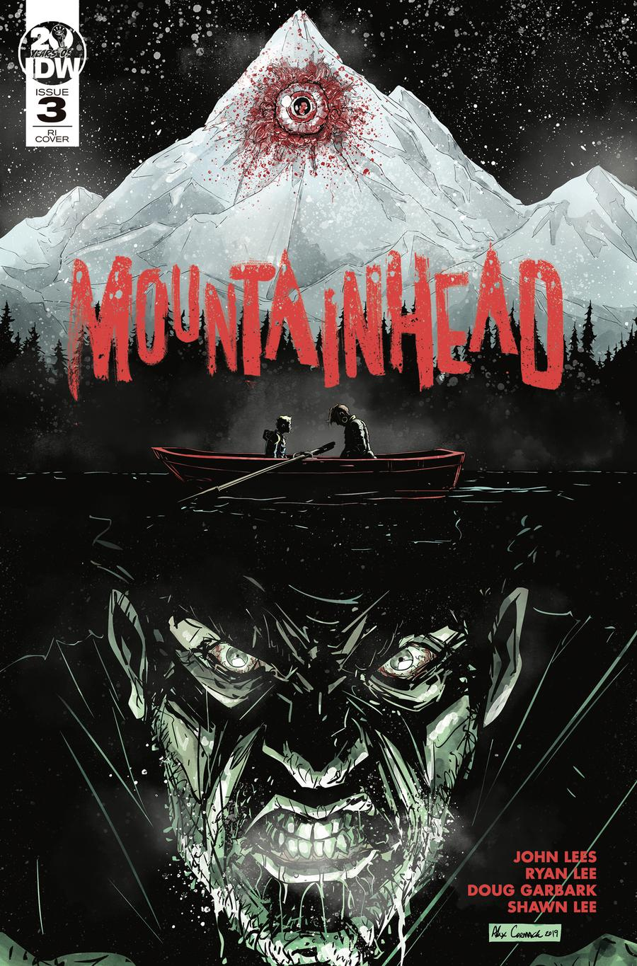 Mountainhead #3 Cover B Incentive Alex Cormack Variant Cover