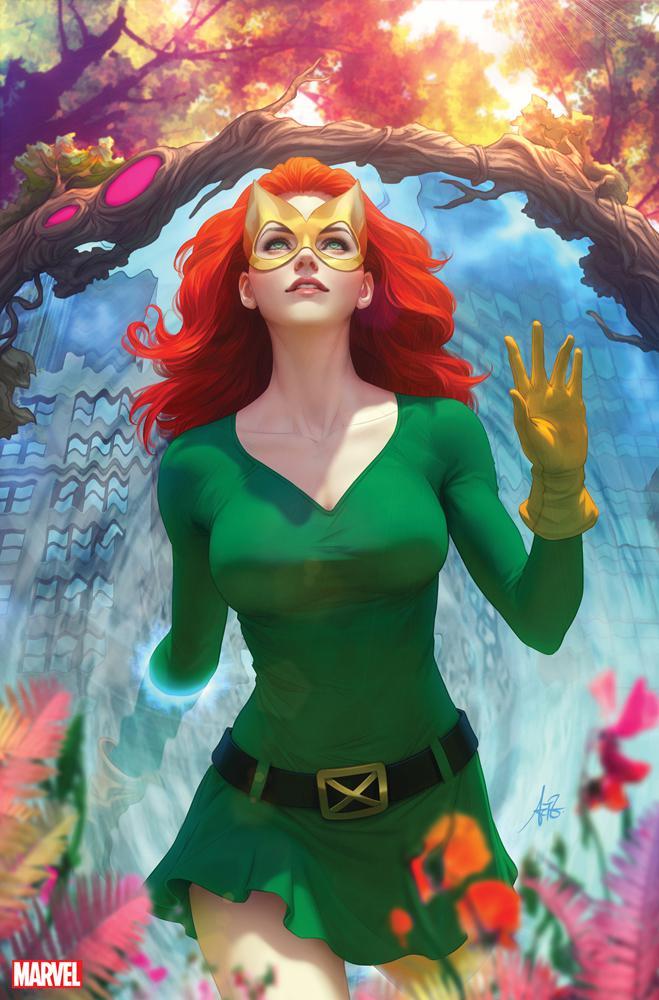 X-Men Vol 5 #1 Cover J Incentive Stanley Artgerm Lau Virgin Cover (Dawn Of X Tie-In)
