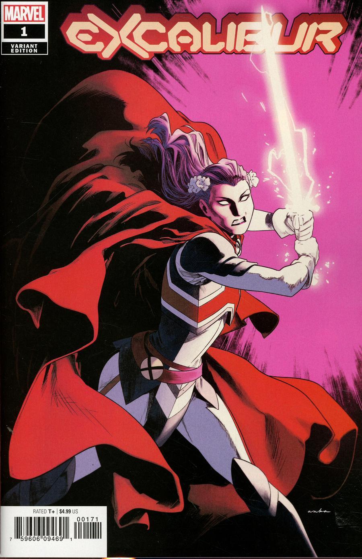 Excalibur Vol 4 #1 Cover E Incentive Kris Anka Variant Cover (Dawn Of X Tie-In)