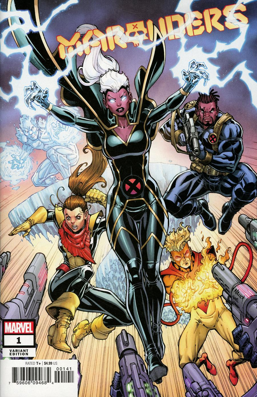 Marauders #1 Cover G Incentive Todd Nauck Variant Cover (Dawn Of X Tie-In)