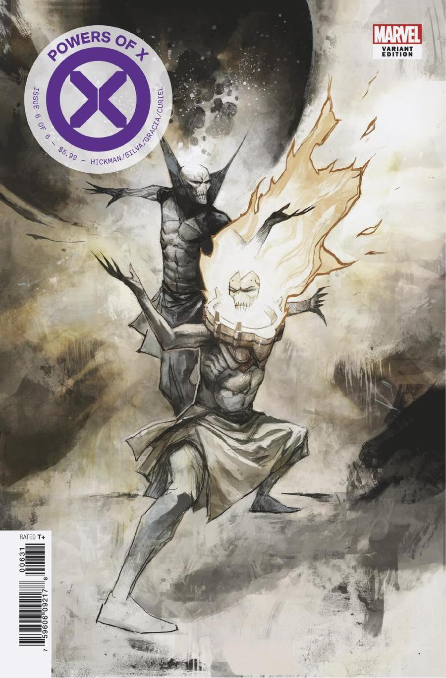 Powers Of X #6 Cover H Incentive Mike Huddleston Variant Cover