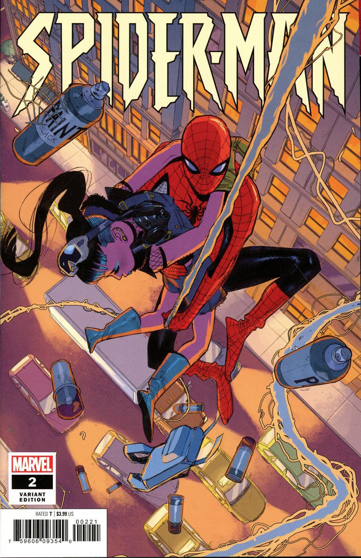 Spider-Man Vol 3 #2 Cover B Incentive Sara Pichelli Variant Cover