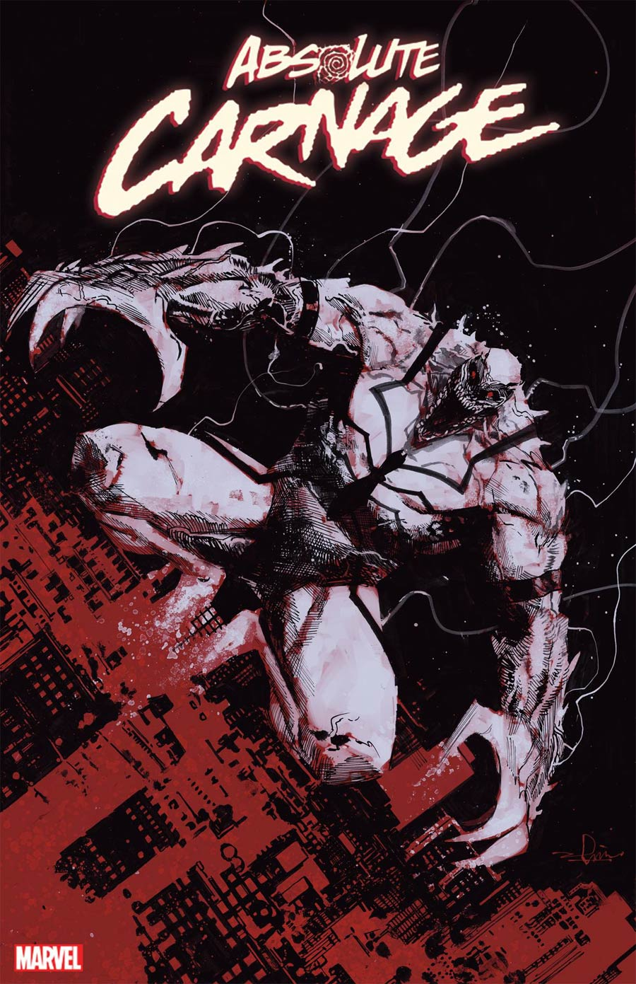 Absolute Carnage #4 Cover F Incentive Gerardo Zaffino Codex Variant Cover