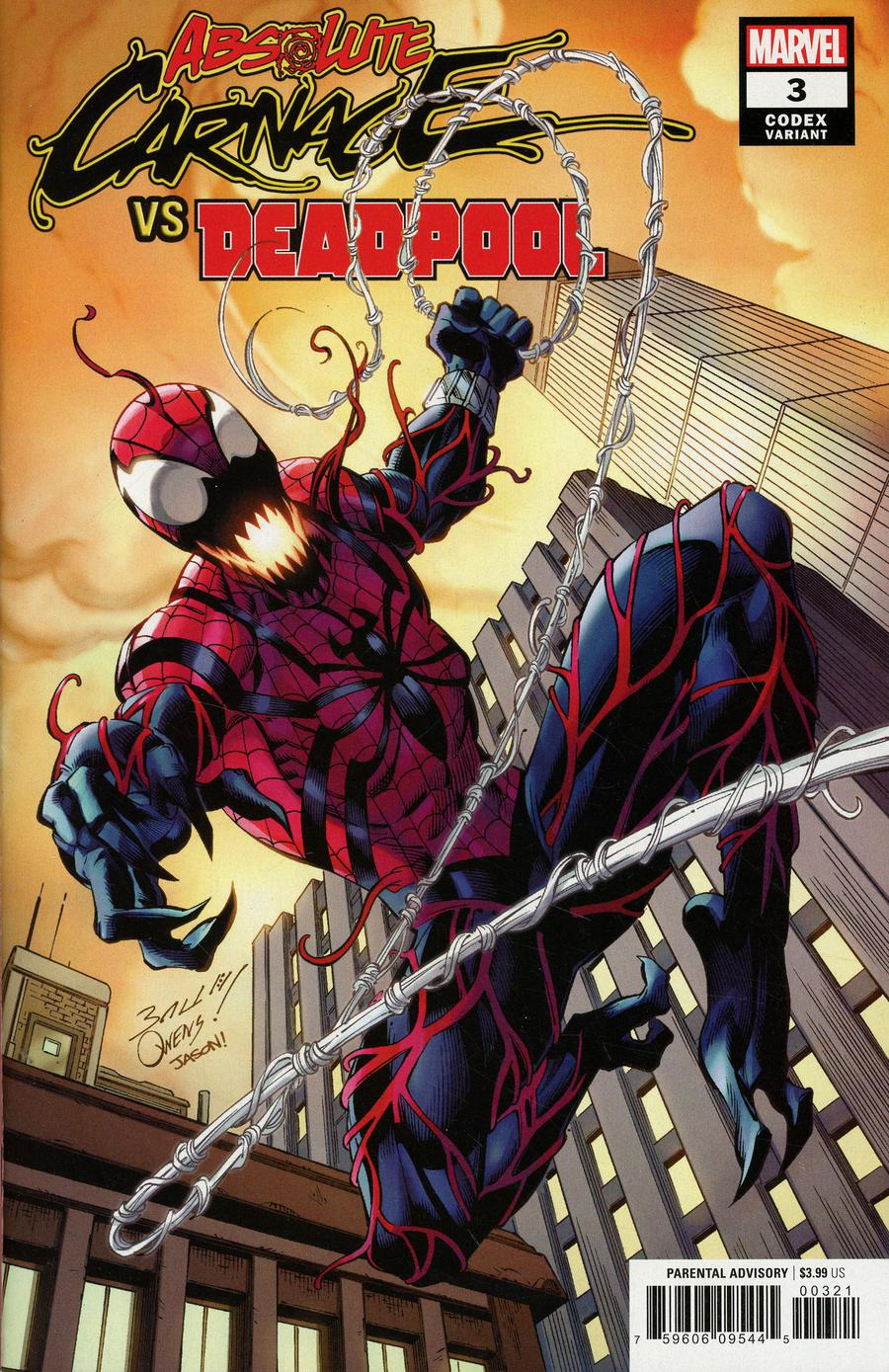 DEADPOOL #45 STANDARD COVER