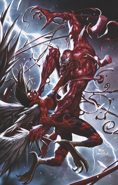 Absolute Carnage Immortal Hulk #1 Cover D Incentive Inhyuk Lee Virgin Cover