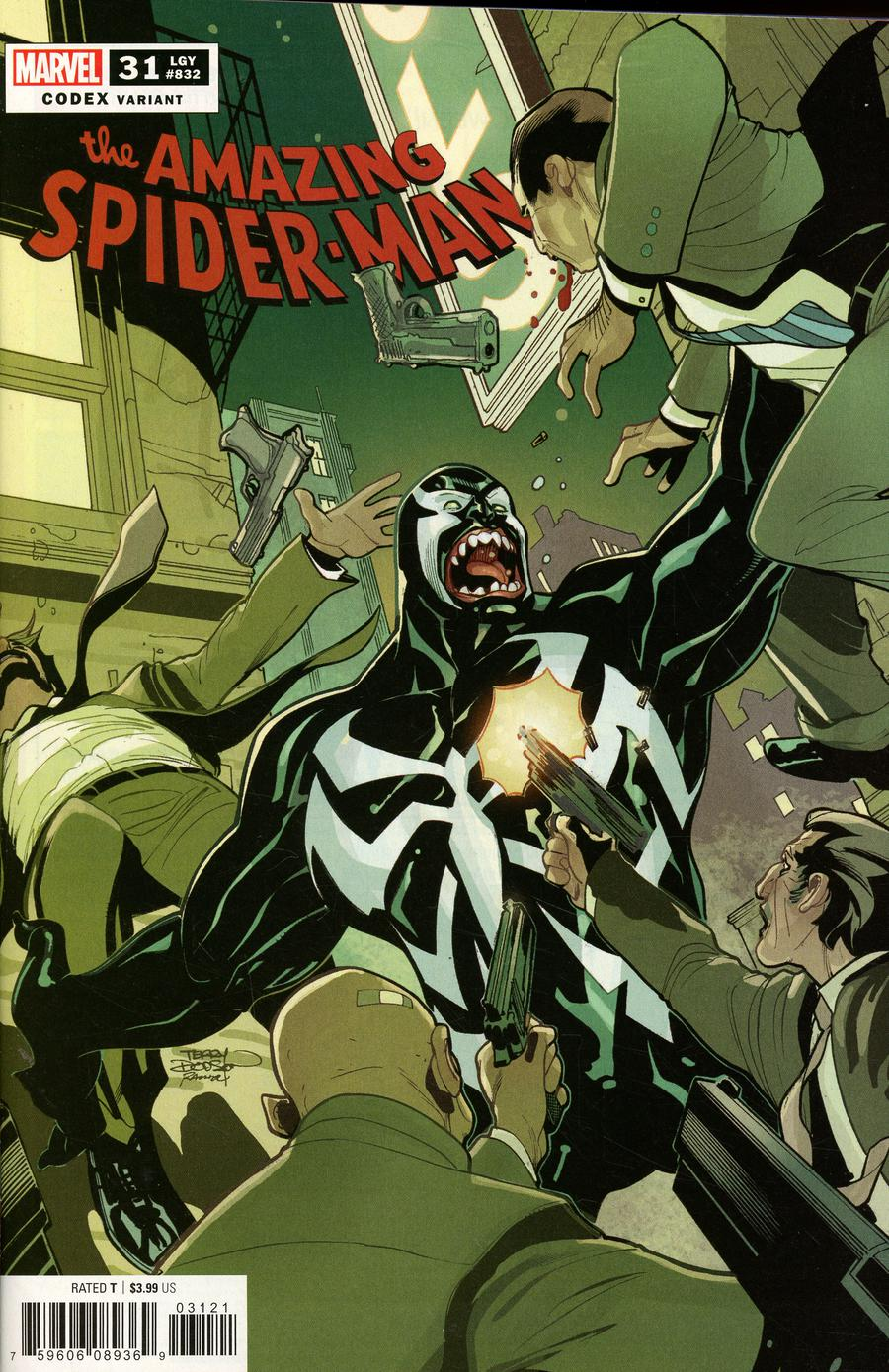 Amazing Spider-Man Vol 5 #31 Cover C Incentive Terry Dodson Codex Variant Cover (Absolute Carnage Tie-In)