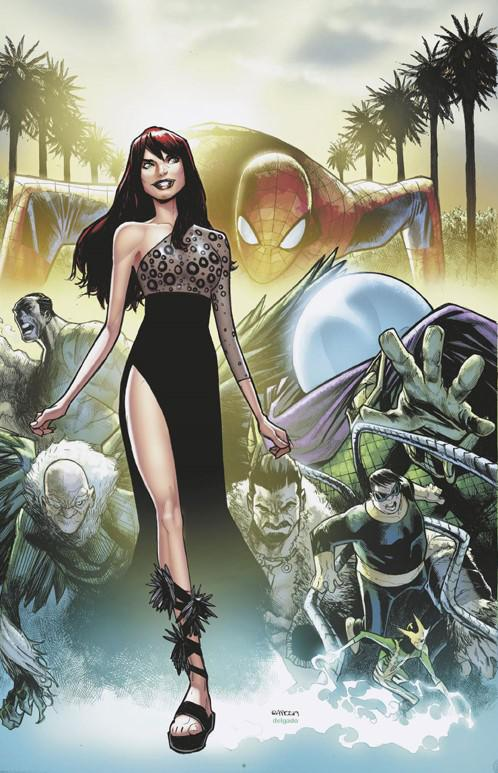 Amazing Mary Jane #1 Cover H Incentive Humberto Ramos Virgin Cover