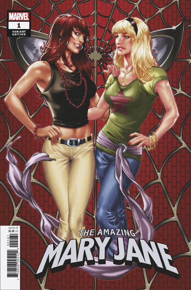 Amazing Mary Jane #1 Cover G Incentive Hidden Gem Variant Cover