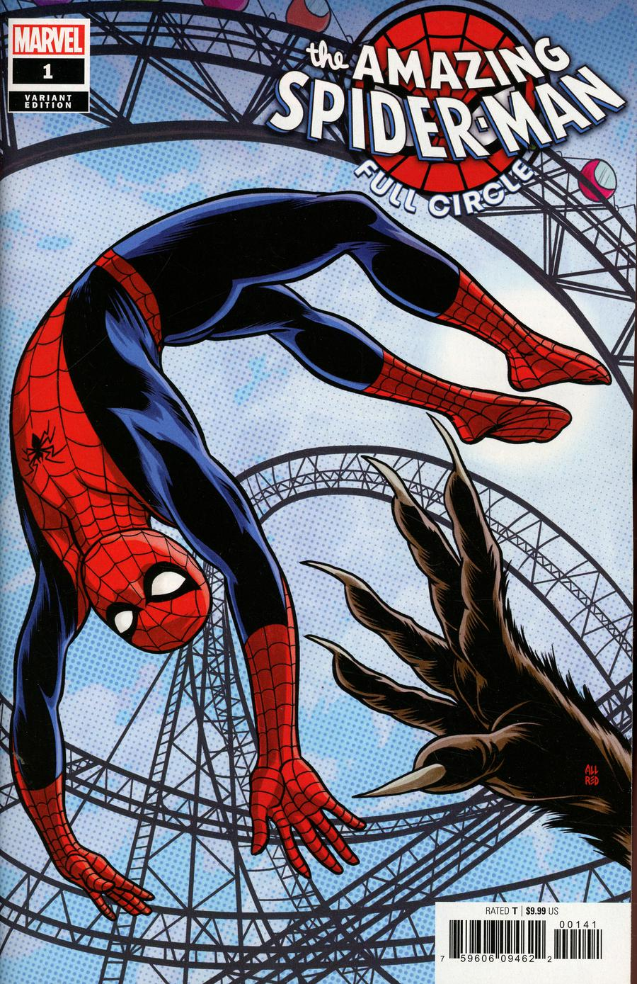 Amazing Spider-Man Full Circle #1 Cover E Incentive Michael Allred Variant Cover