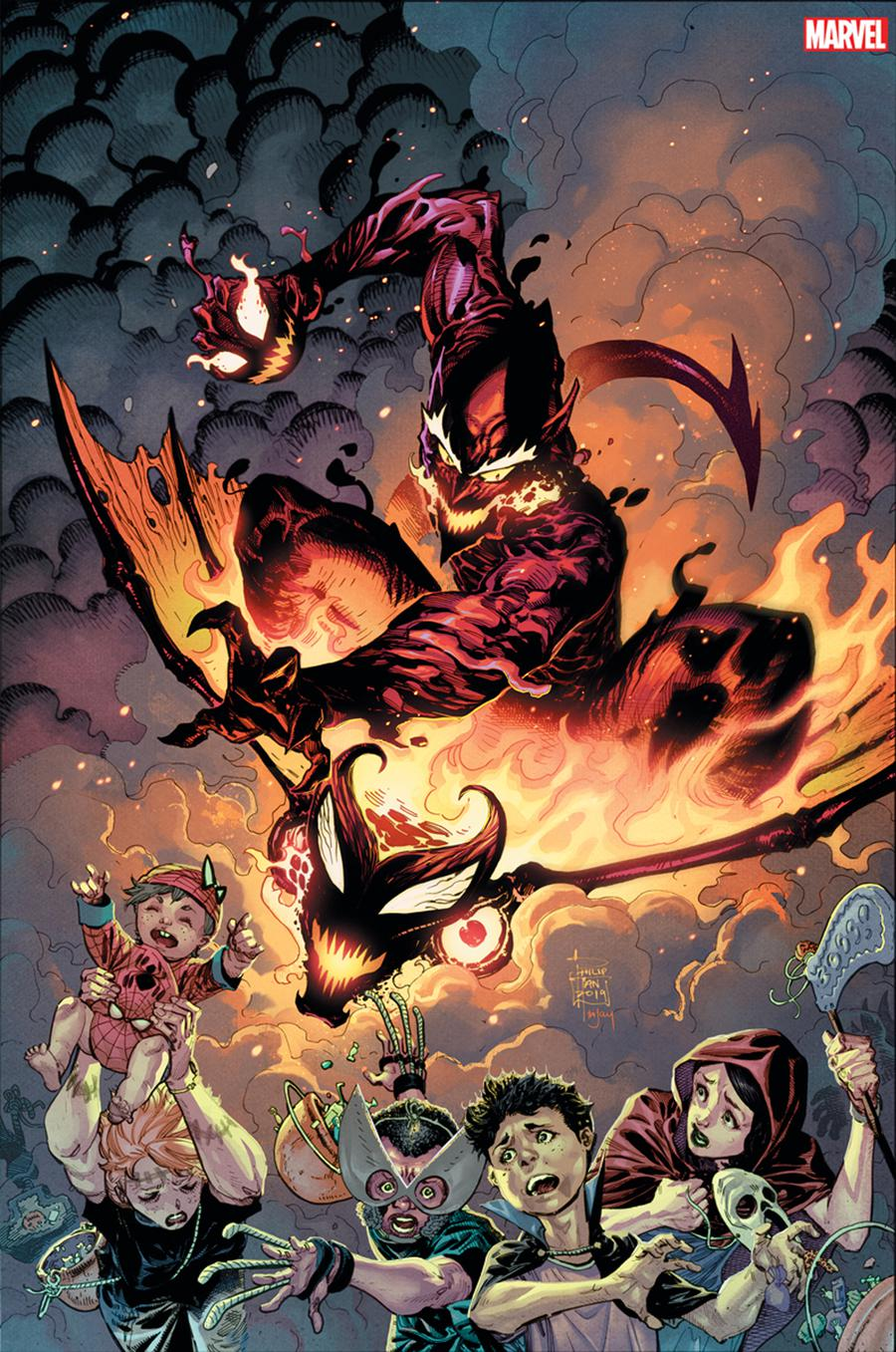Red Goblin Red Death #1 Cover G Incentive Philip Tan Virgin Cover