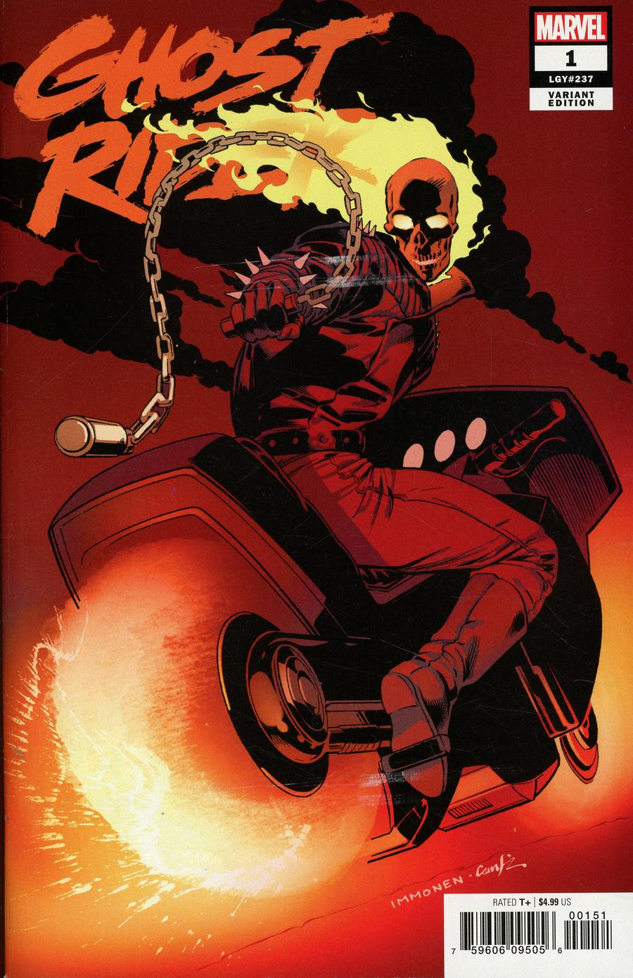 Ghost Rider Vol 8 #1 Cover I Incentive Hidden Gem Variant Cover