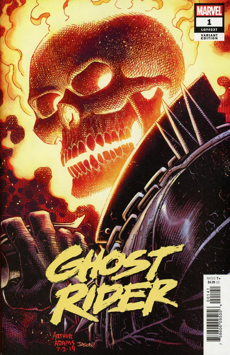 Ghost Rider Vol 8 #1 Cover H Incentive Arthur Adams Variant Cover