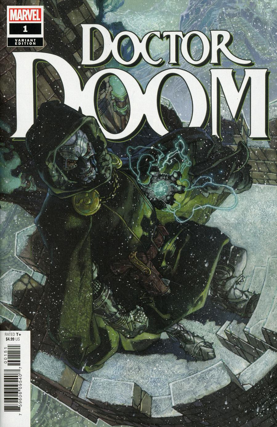 Doctor Doom #1 Cover D Incentive Simone Bianchi Variant Cover